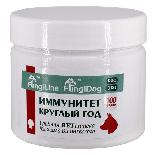 FungiDog «Иммунитет круглый год», банка 100 грамм